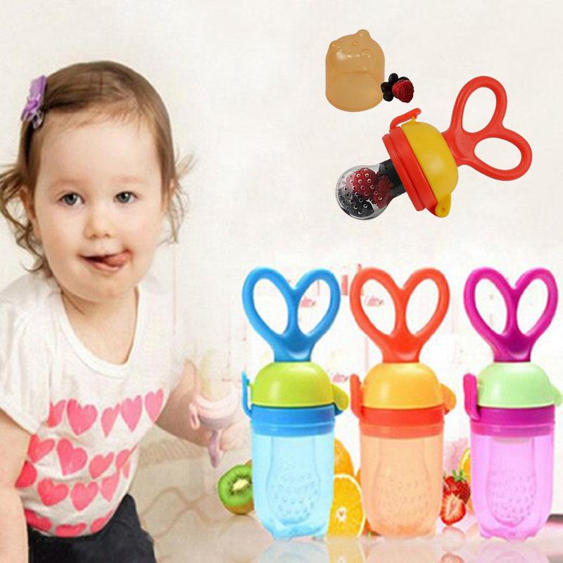Baby Pacifier Clip Fresh Food Milk Nibbler Feeder Kids Nipple Feeding Safe Baby Supplies Nipple Teat Pacifier Bottles