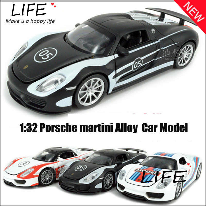 Hot Sale Martini Alloy Car Model For Kids Toys Wholesale Roadster Toy Metal Car Hot Wheels 1:32 Christmas Gift Toy Car(China (Mainland))