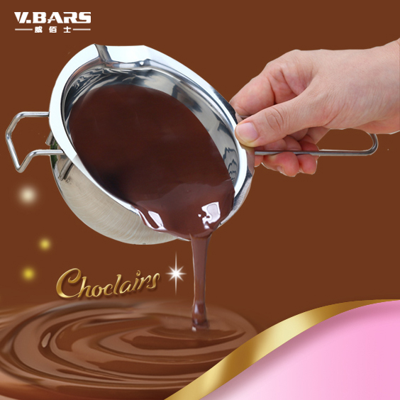 Stainless steel baking utensils milk butter heated bowl chocolate mould pot small tools(China (Mainland))