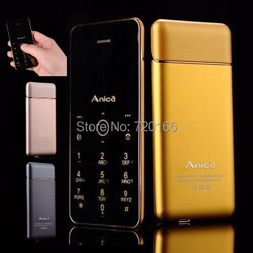 2015 New Bluetooth Dialer mini phone ultra thin card mobile phone MP3 FM Small cell phones fashion A6 M5 Russian French Spanish(China (Mainland))