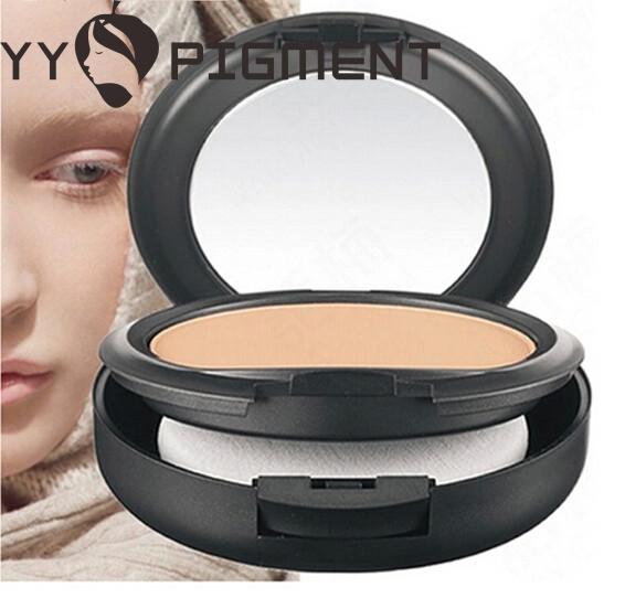 Wholesale- 1Pcs/Lot Professional Makeup STUDIO FIX POWDER PLUS FOUNDATION FOND DE TEINT POUDRS 15g face powder NC style(China (Mainland))