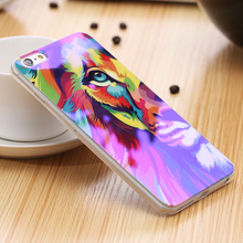 5S Reflective Blue Light Soft TPU Case for iPhone 5S SE 5 Fancy Cute Artistic Back Cover for Apple iPhone 5S 5 Cartoon Silicone(China (Mainland))