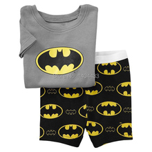 Summer Cotton Spiderman Cartoon Children s Kids Short Pajamas Sets pijama menino Infantil For Boys Baby