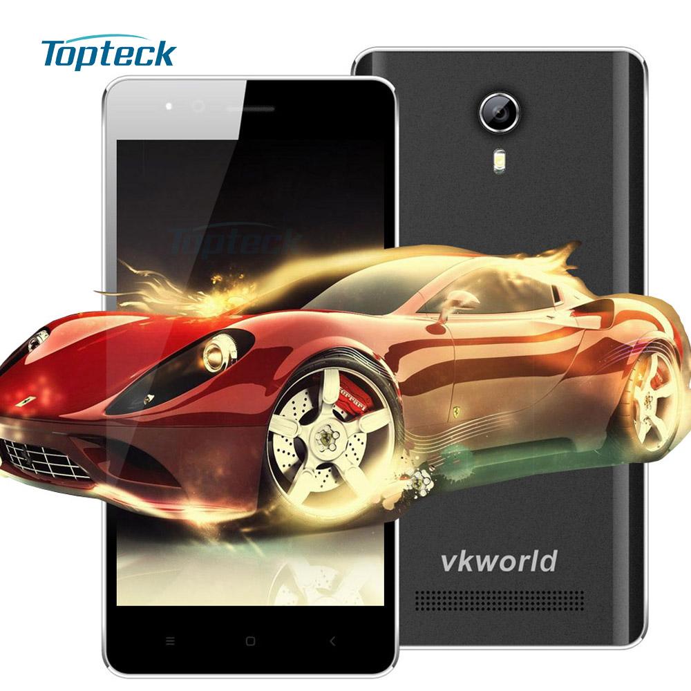 "Original Vkworld F1 4.5"" Smartphone Android 5.1 MTK6580 1.3GHz Quad Core 1GB+8GB 5MP Dual SIM 3G WCDMA 1850mAh Mobile Cell Phone(China (Mainland))"