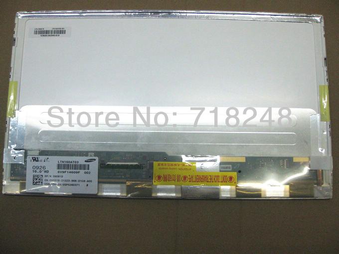 "NEW 16"" LCD SCREEN LTN160HT03-N01 Fit LTN160HT03-001 WUXGA 1080p FHD DUAl Lamp(China (Mainland))"
