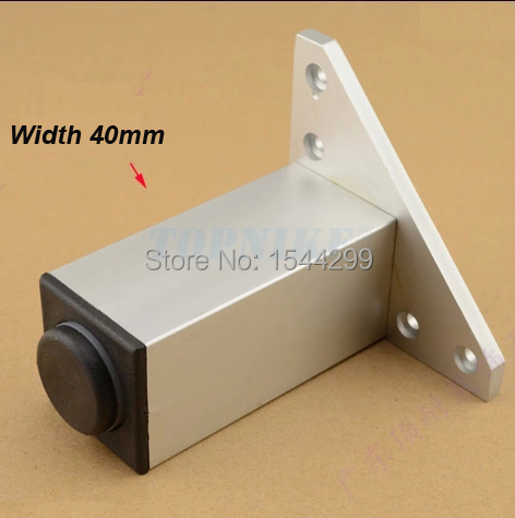 4pcs Reinforcement bearing be customized highly adjustable square ark cabinet feet aluminum alloy Furniture Hardware Accessories(China (Mainland))