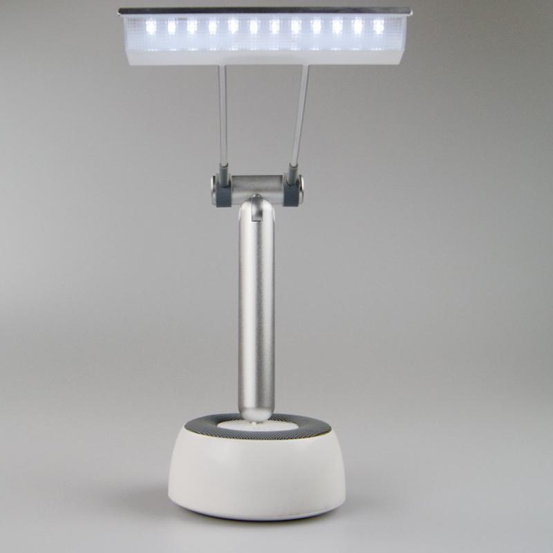built in bluetooth speaker sound system led table lamp for. Black Bedroom Furniture Sets. Home Design Ideas