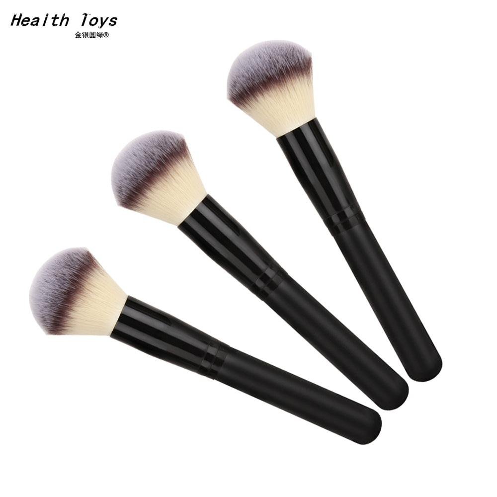 Women Beauty Makeup Brush Black Wood Foundation Blush Powder Contour BB Professional Make Up Artist Tools(China (Mainland))
