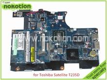 Материнская плата LA-6032P K000106360 для toshiba satellite T235 T235D ноутбук материнской платы AMD DDR3 Turion нео TMK625 процессором на борту