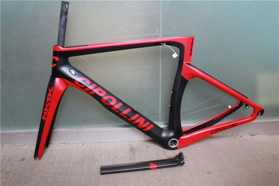 2016 Newest cipollini NK1K 700C Road bicycle matte UD full carbon fibre bike frame+fork+seatpost+headsets Free ship(China (Mainland))