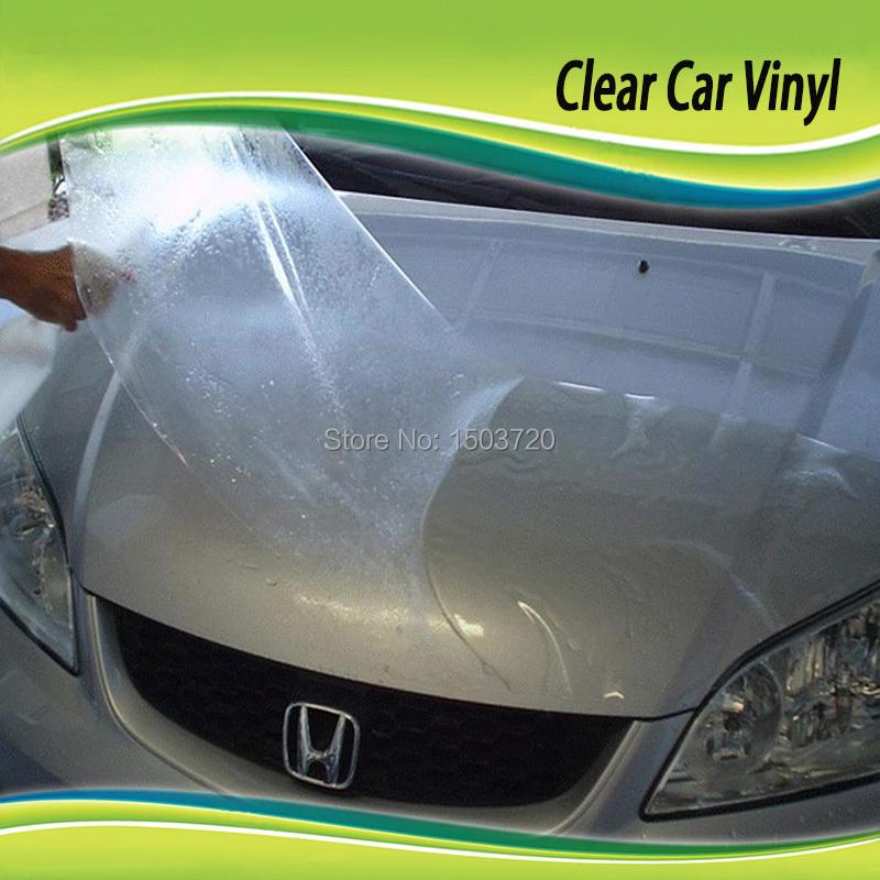 Фотография High Quality Transparent Paint PVC Sticker Paper Roll Car Film Protective
