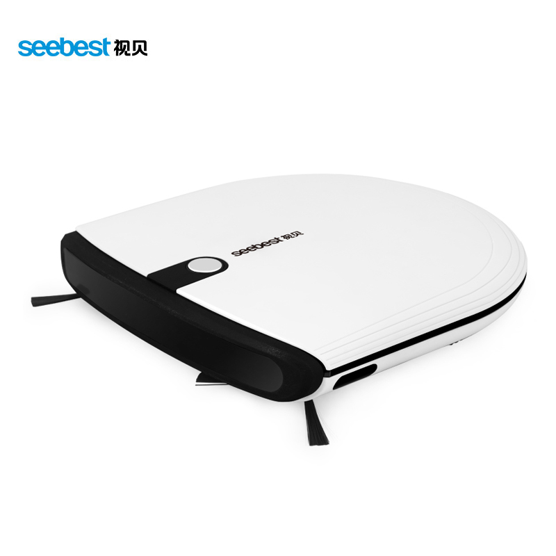 Super Slim Mini Robotic Vacuum Cleaner 6.3cm Height with 2 Side Brush Aspirador Robot, Seebest E620 MOMO 3.0(China (Mainland))