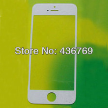 New Outer Front Cover Replacement Touch Screen Digitizer Glass Lens For iPhone 4s 4gs Black and White free shipping(China (Mainland))