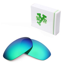 MRY POLARIZED Replacement Lenses for Oakley Whisker Sunglasses Emerald Green