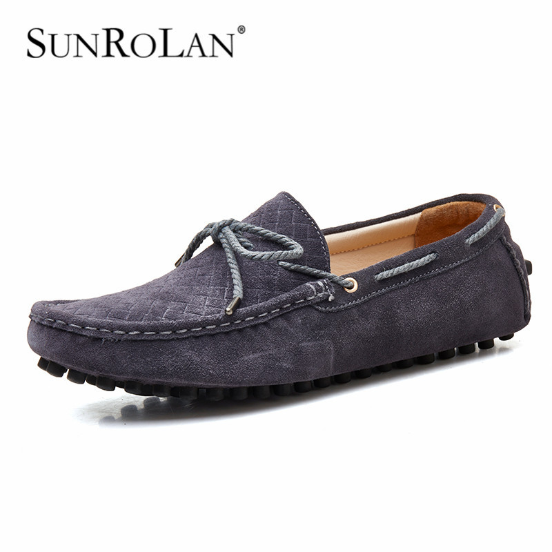Plus size 11 12 13 men loafers masculino moccasin driving shoes