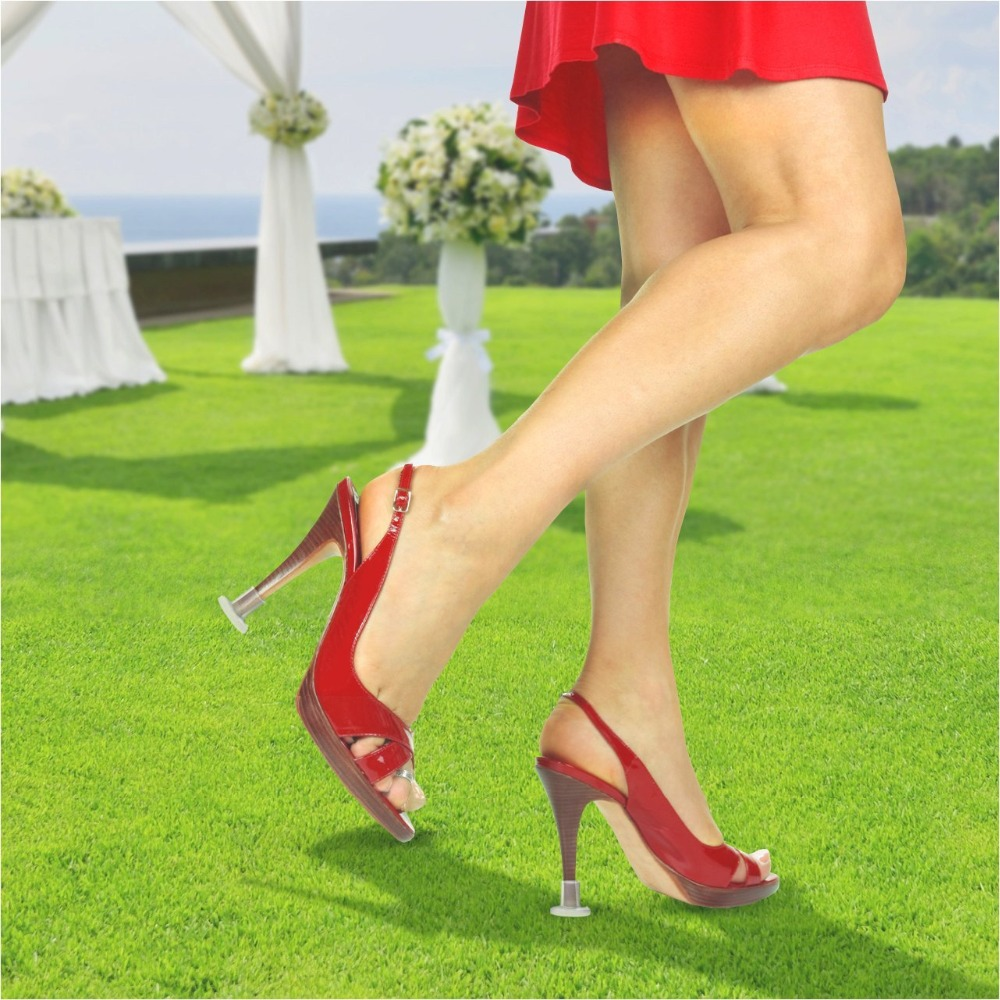 50 pairs / Lot High Heeler Latin Stiletto Dancing Covers Heel Stoppers Antislip Silicone High Heel Protectors for Wedding Party<br><br>Aliexpress