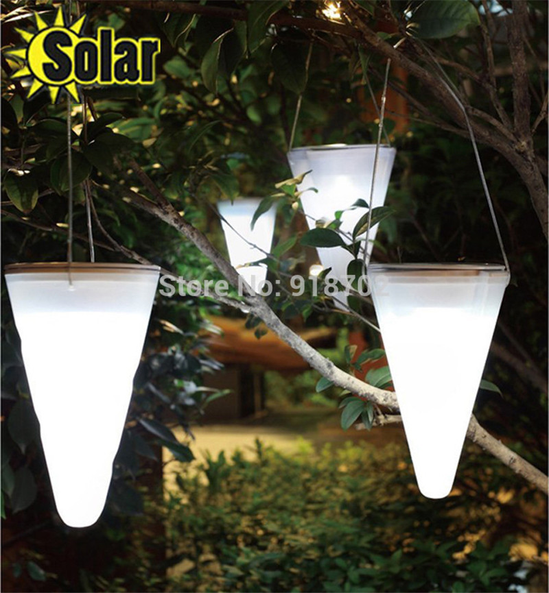 2015NEW 4pcs/lot Outdoor waterproof Solar led lights,Portable Camping lamp for outside garden Tree decoration(China (Mainland))