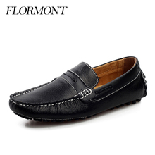Men's Casual Shoes Genuine Leather Spring Men Loafers Chaussure Homme Platform Shoes Men Flats Tods Man Moccasins Driving Shoes(China (Mainland))