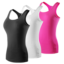 Women Sports Yoga Top Fitness Gym Tank sleeveless t shirts Female Dry Fit Sports Shirts for Girl Fitness Tops Gym Yoga Shirt