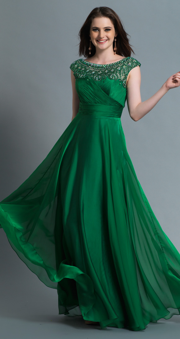 Cute And Lovely Dresses Green Prom Dresses