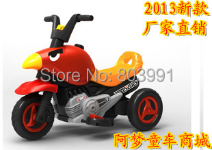 Child electric motorcycle baby toy car three stroller child electric bicycle(China (Mainland))