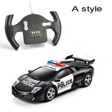 Горячая автомобилей новая 1:24 управления автомобилем имитационные модели детские подарок 4 канальный RC электрический мини-радио управления автомобилем игрушка автоэлектроника