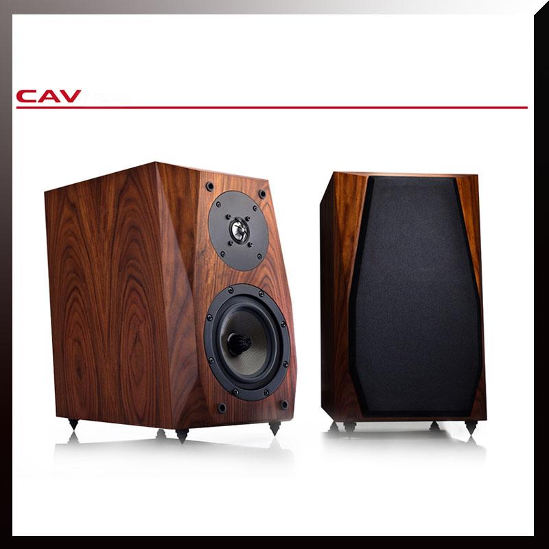 CAV HiFI High End Bookshelf Speaker Wood Veneer Finished FL-35<br><br>Aliexpress