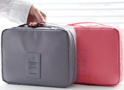 1 Pcs High quality waterproof cosmetic bag for travelling, large capacity washing bag ,multifuctional storage bag(China (Mainland))