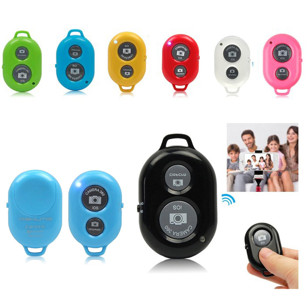 Universal Bluetooth Remote Selfie Shutter Release for iPhone Samsung HTC HUAWEI Sony IOS Android Smart Phone