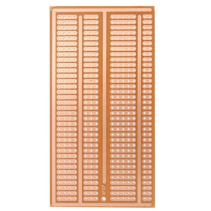 image for Wholesale 5X10cm Solderless PCB Test Breadboard Single Side Copper Pro