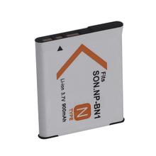 900mah Battery For Sony NP-BN1 Digital Camera Camcorder Rechargeable Li-ion 3.6V Battery For DSC-W390 DSC-W380 DSC-W370 DSC-W350