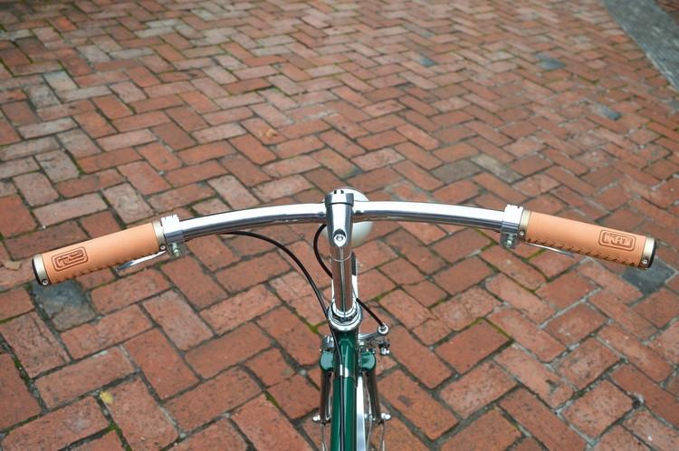 ANTS vintage bicycle handlebar Aluminum classic bike steering-wheel for Commuter Bike parts<br><br>Aliexpress