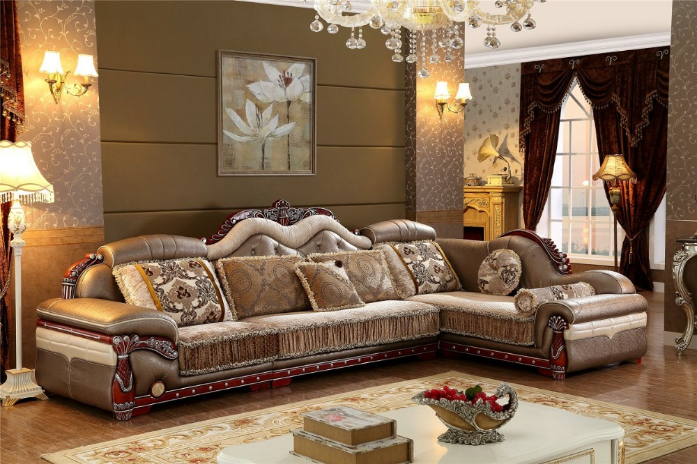 Sofas for living room 2015 new arriveliving antique for Fabric couches for sale