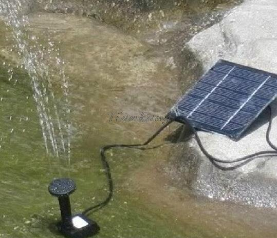 1set Professional Solar Power Fountain Pool Water Pump Garden Plants Sun plants watering outdoor wholesale Dropshipping(China (Mainland))