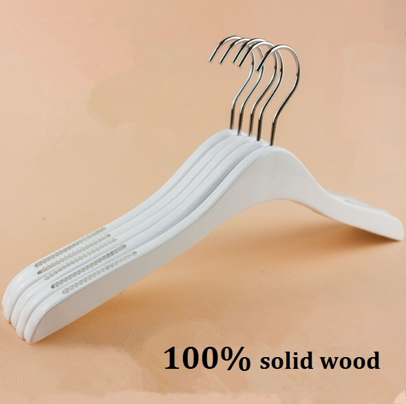 baby white wooden hangers 3