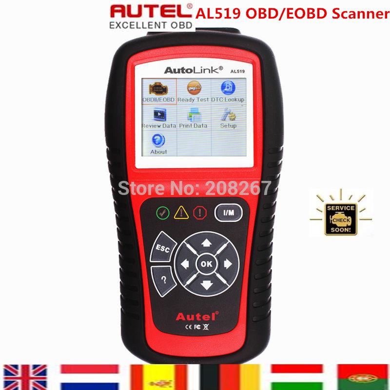 Original Autel Autolink AL519 scanner with promotion price ORIGINAL Autel AL 519 Code Reader
