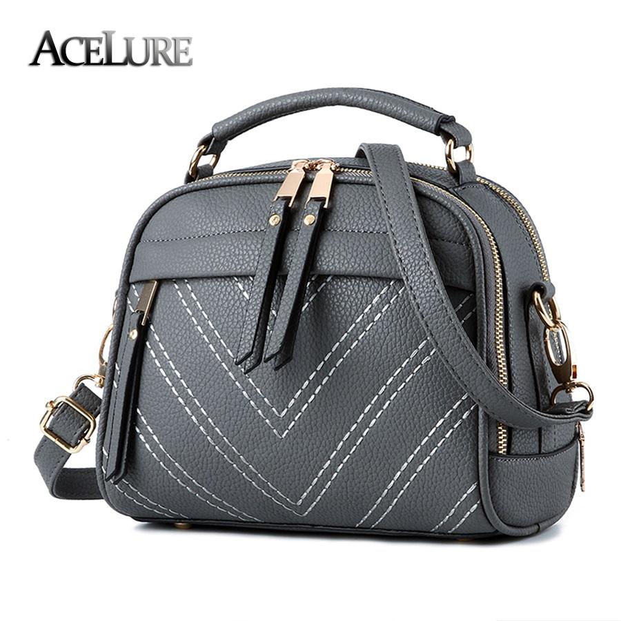 Women pu leather handbags 2016 trendy female simple shoulder bags sac a main sweet ladies messenger bags pink totes handtassen(China (Mainland))