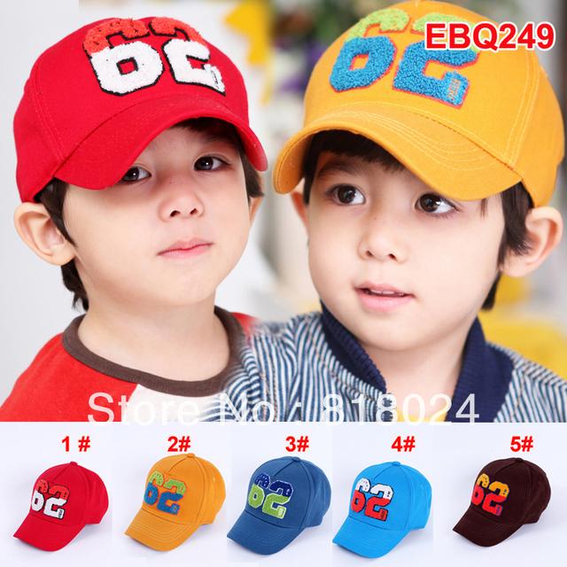 1 пк весна 3D надписи вышивка дети аксессуары малыш бейсбол кепка шляпа мальчики-младенцы девочка солнца шляпа для 2-6yrs