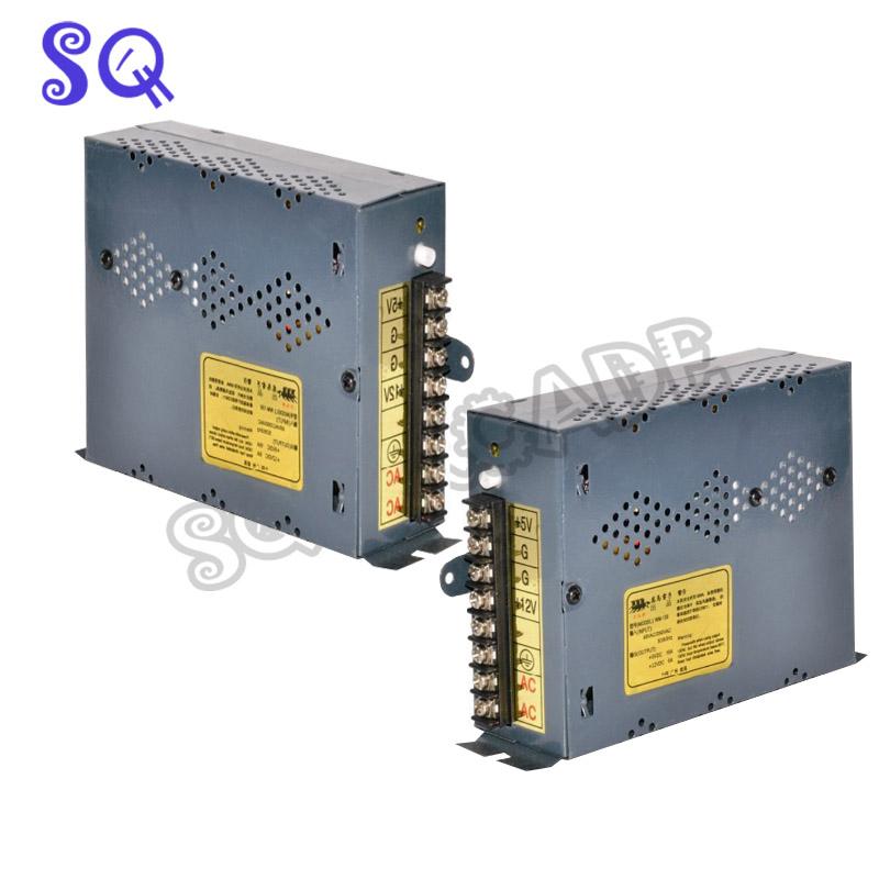 Free shipping 12V 6A / 5V 16A Arcade Switching Power Supply WM138 110/220V Arcade Pinball Multicade for JAMMA Arcade machine(China (Mainland))