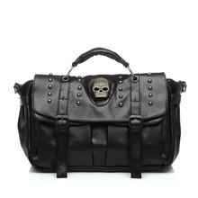 Buy Sac Main Women Leather Handbag Skull Rivet Female Shoulder Bag Fashion Crossbody Bag Casual Tote Bags Bolsa Feminina Hangbags for $23.31 in AliExpress store