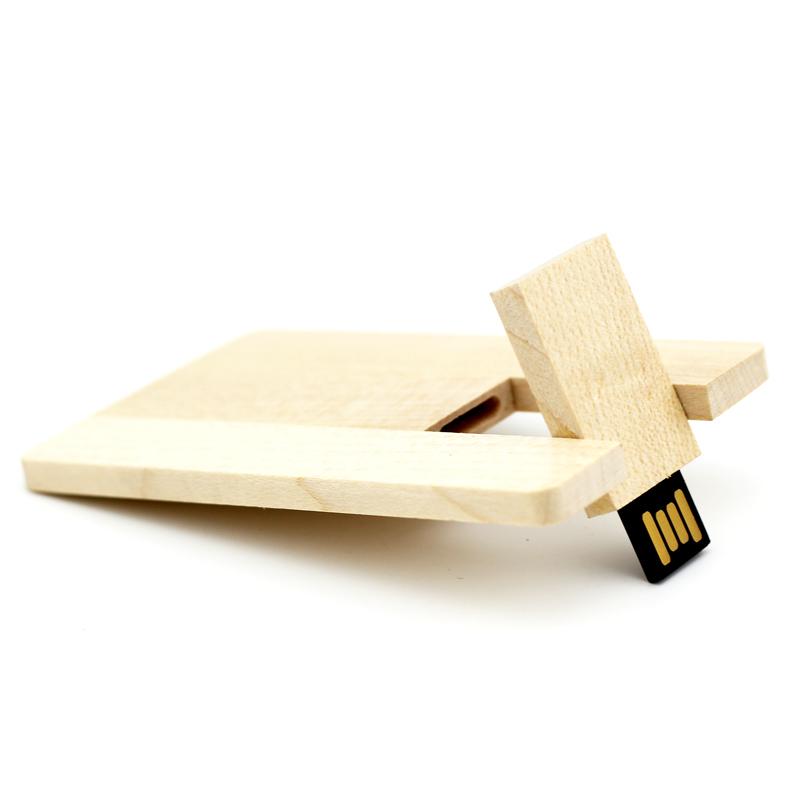 Best Gift Hot Sale Wooden Card 2-32GB USB 2.0 Flash Memory Stick Driver U Disk Pen Drive LU591(China (Mainland))