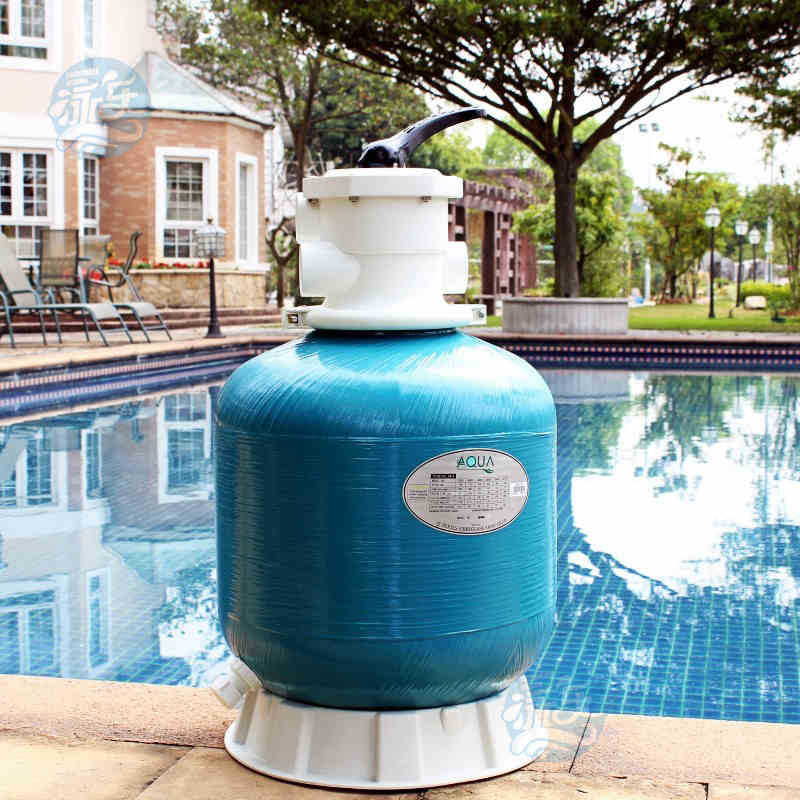 "GH-T16 16"" 400mm diameter Swimming pool sand filter fiberglass sand filter material top-mounted sand filter(China (Mainland))"