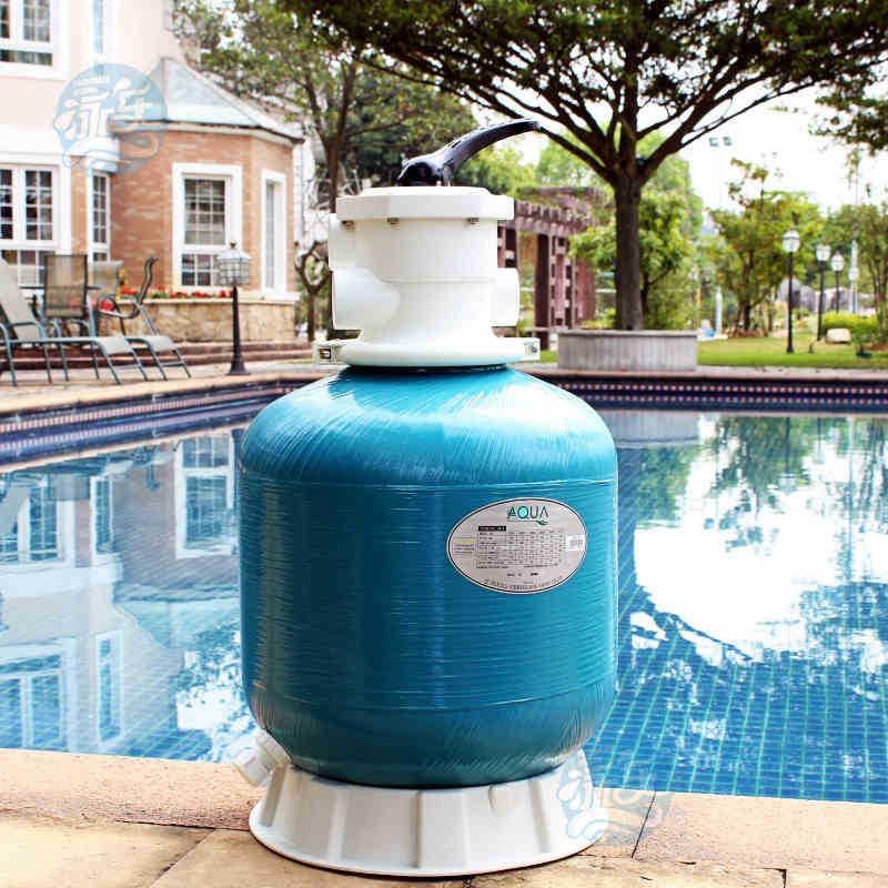 "GH-T16 16"" 400mm diameter Swimming pool sand filter fiberglass sand filter material top-mounted sand filter(China (Mainland))"