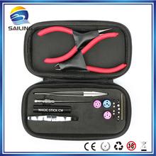 Buy Athena vape mini ecig coil tool coil jig tweezer pliers Allen key DIY tool kit electronic cigarette accessory RDA RBA tank for $29.99 in AliExpress store