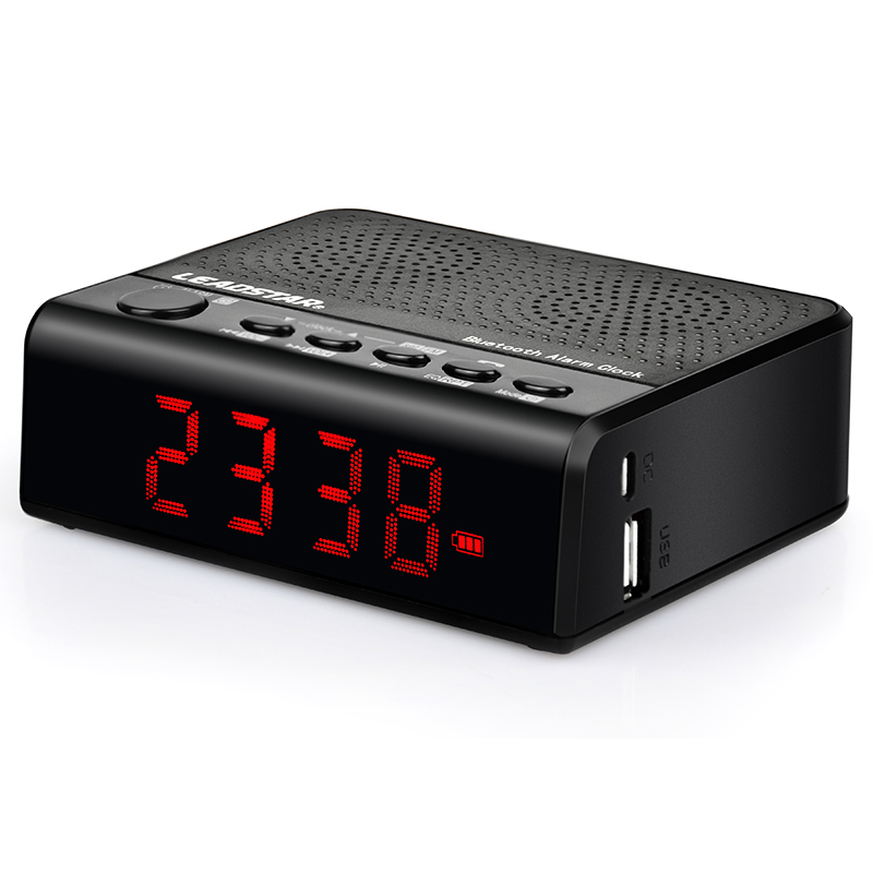 MX-19 Mini Portable Wireless Bluetooth Speaker FM Super Bass Amplifier Clock Alarm #86772(China (Mainland))