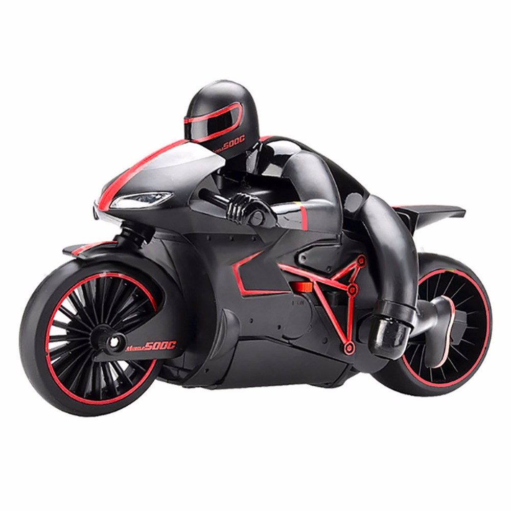 333-MT01B 1/24 2.4GHz Remote Control Competitive Motorcycle High Speed Drift RC Stunt Car Children Electric Toy Motorbike Car