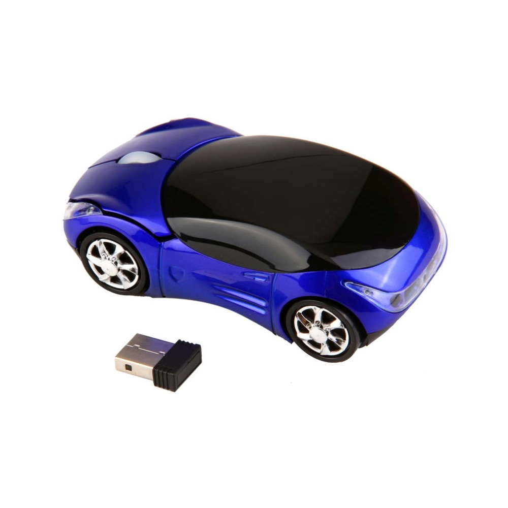Hot Selling 1000DPI Wireless Car Optical Mouse +USB receiver Top Quality(China (Mainland))