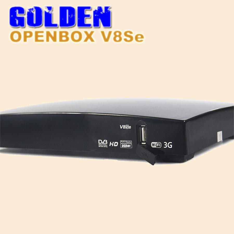 2PCS[DHL FREE]Openbox V8Se Digital Satellite Receiver AV Support USB Wifi WEB TV Biss Key 2xUSB Youporn CCCAMD NEWCAMD as S-V8(China (Mainland))