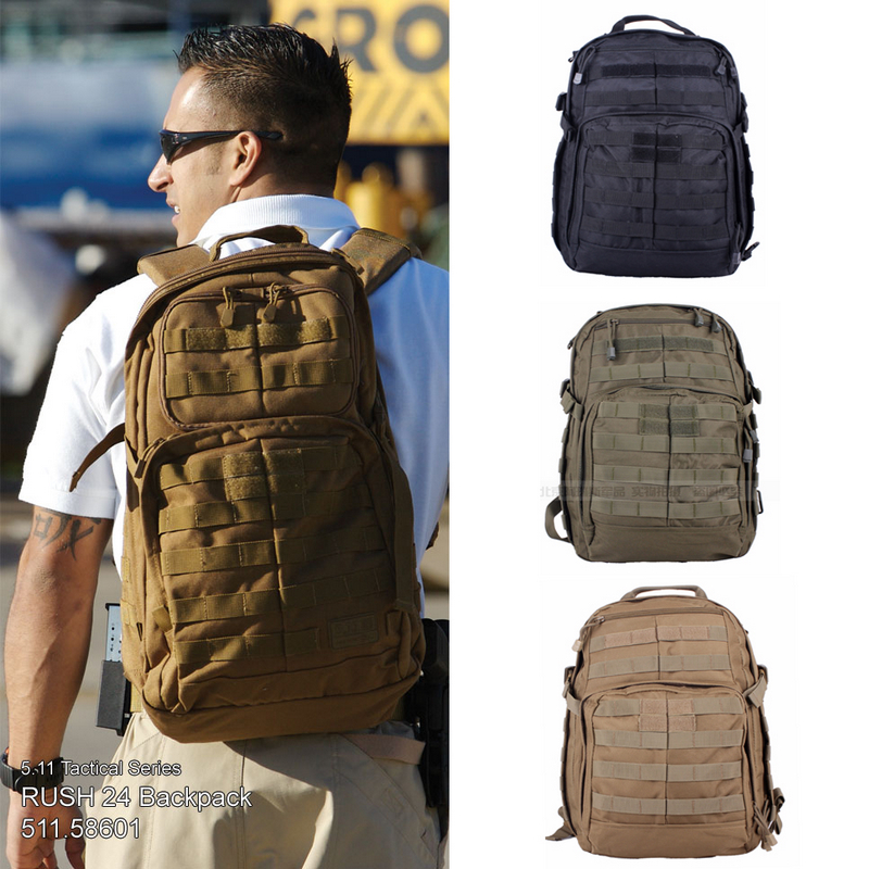 Tactical Backpack Field Kit patrol assault backpack bag black / army green / clay color free shipping(China (Mainland))