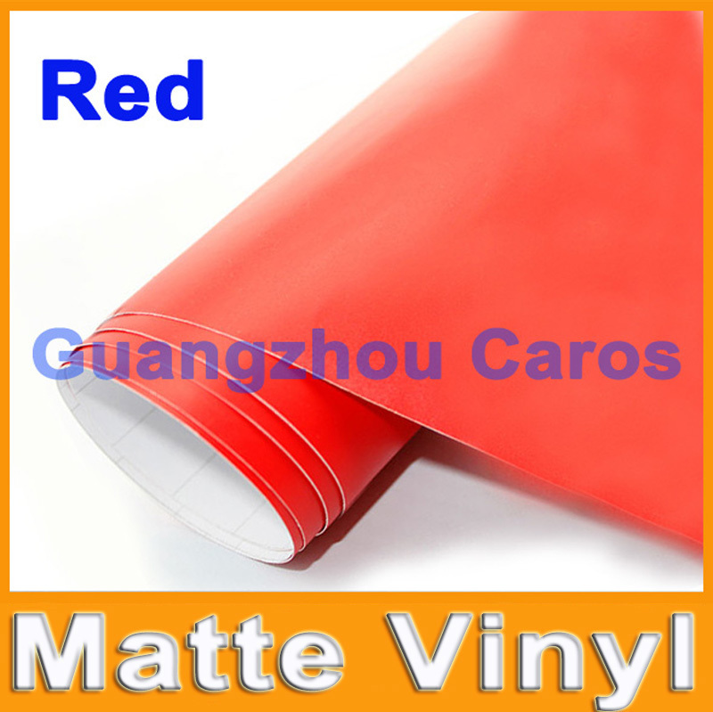 Free Shipping Matte Vinyl Car Wrap Sticker High Quality For Car Decoration With Bubble Free Size: 1.52 m *30m AC-1032(China (Mainland))